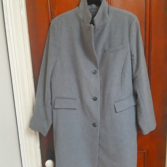 Ralph Lauren Charcoal Grey Wool Jacket 18 W